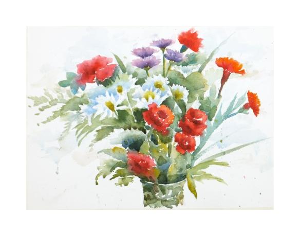 jeans bouquet